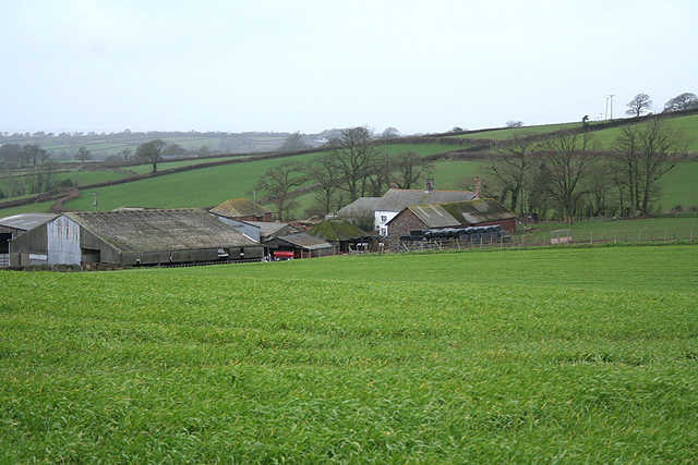 Sampford Courtenay: Langmead Farm