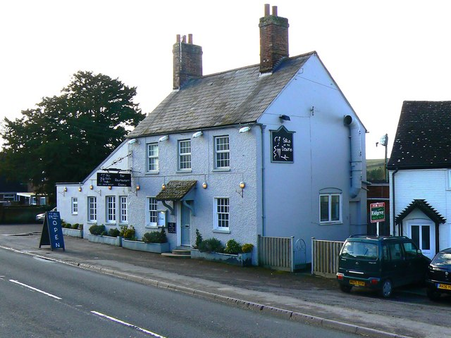 'Silks on the Downs', restaurant and bar, Ogbourne St Andrew. near Marlborough