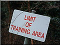 TL8787 : Limit Of Training Area by Keith Evans