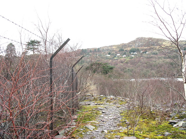 The narrowness of the berm separating the bombstore from the main road