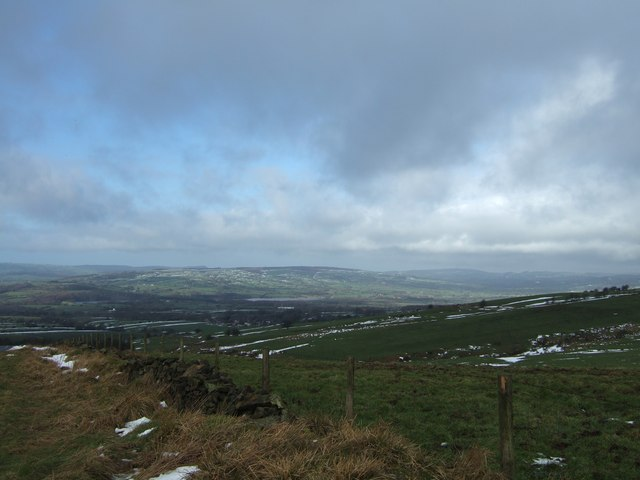 View of Fields from Morridge