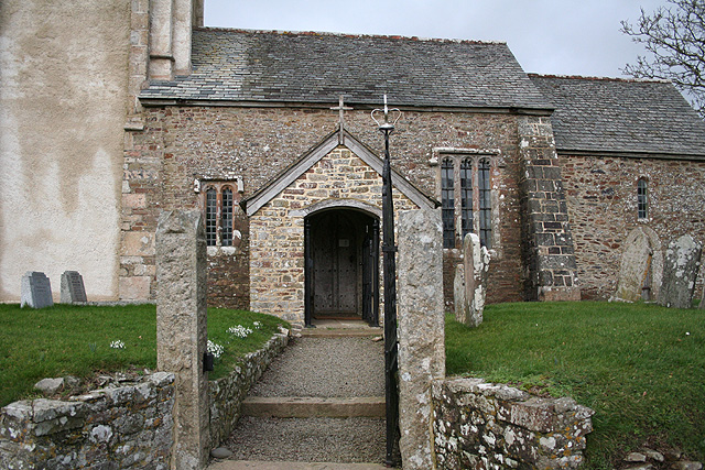 Sampford Courtenay: St Mary�s, Honeychurch