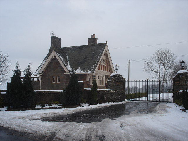 Gatehouse for Auchterarder House