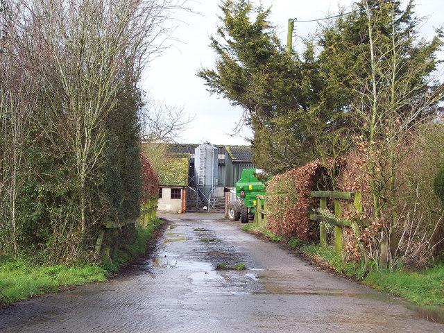 Higher Farm near Margaret Marsh