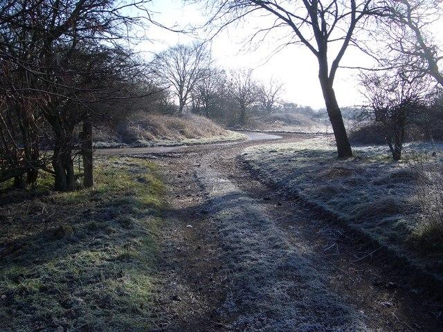 Footpath Junction SW of Harrold
