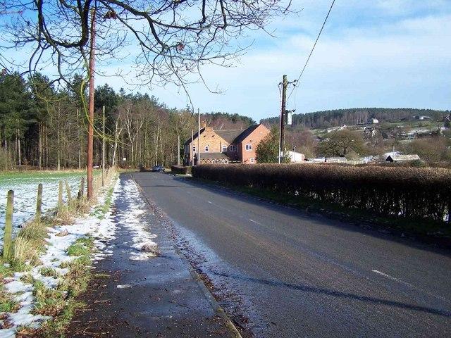 The Rag Pub Looking Towards Cannock Wood