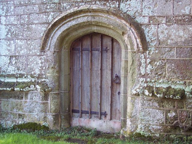 Door at St Margaret's Church