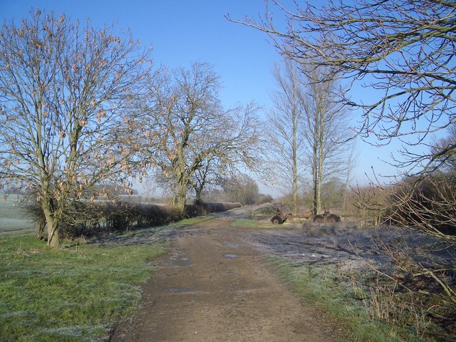 The Milton Keynes Boundary Walk SW of Harrold