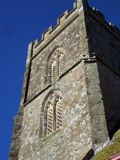 Detail on tower of St Margaret's Church