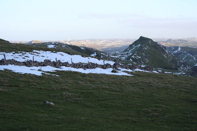 Chrome Hill from the northwest