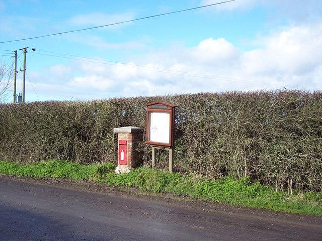 Margaret Marsh Post Box and Information Board