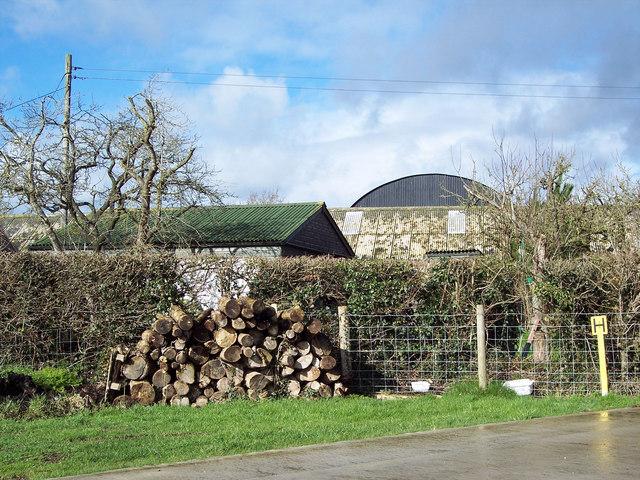 Elm Farm,  near Margaret Marsh