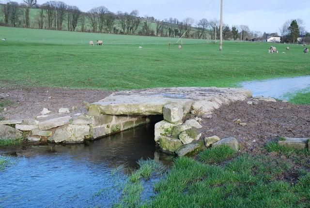 Old bridge on Norrington Farm