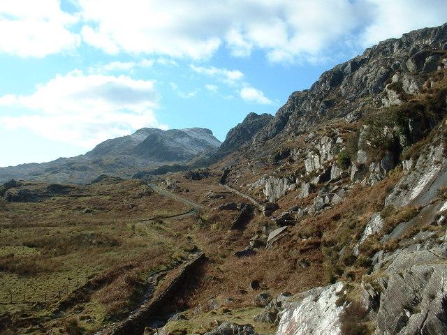 Moelwyn crags