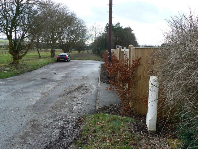 Closed road, near A345, Ogbourne St George, Wiltshire
