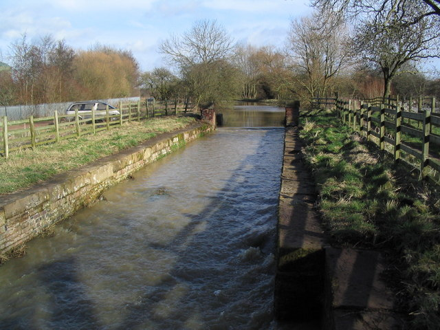 Old canal lock, River Wreake