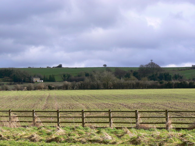 View east from the A345 near Ogbourne St George