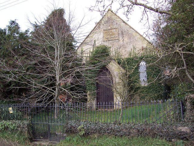 Ivy covered chapel in Manston