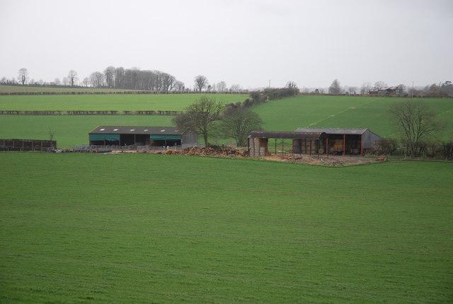 Buildings on Chapel Farm