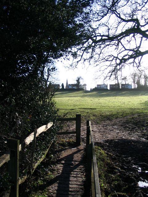 Footbridge over the Sherbourne