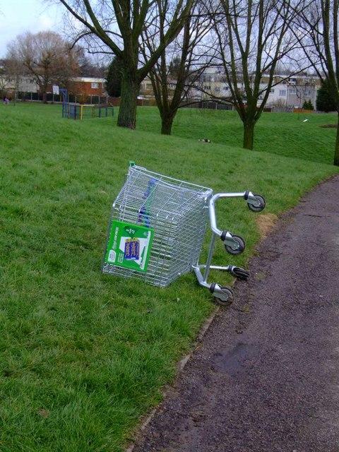 Gloucester Park (2) - ASDA trolley