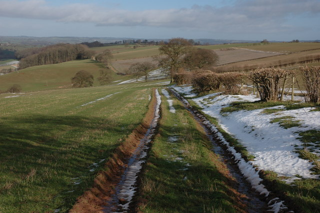 Farmland to the east of Westhope Common