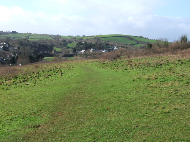Scott's Meadow: view towards Edginswell