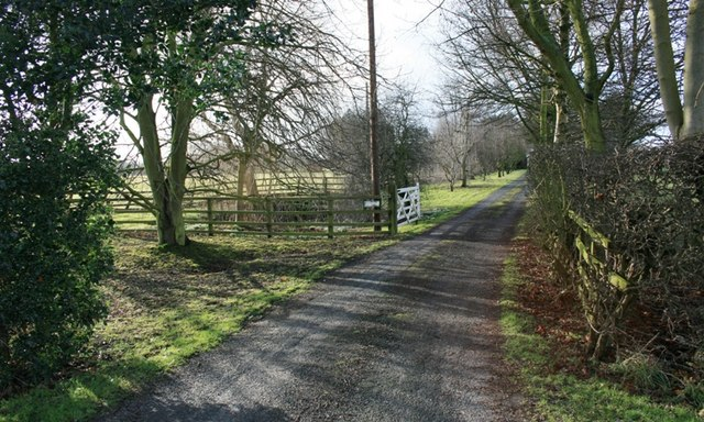 Entrance to Plantation Farm