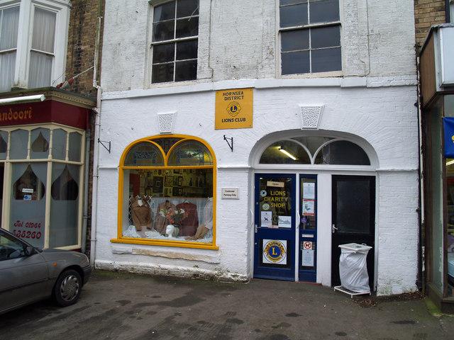 Charity Shop on Newbegin