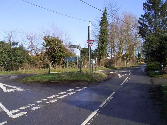 Road Junction Showell Lane