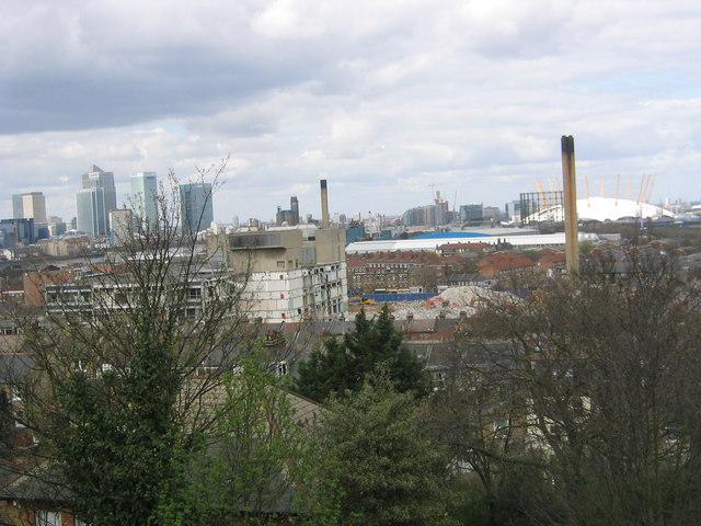 Greenwich Regional Hospital half demolished