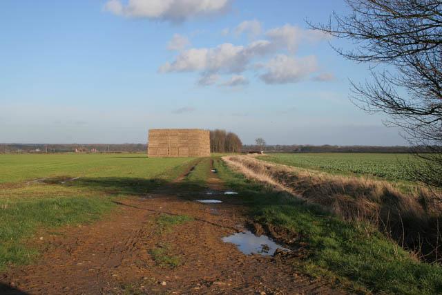 Bridleway near Aunsby