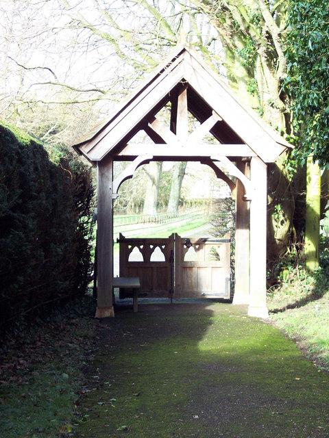Lych Gate at Manston Church