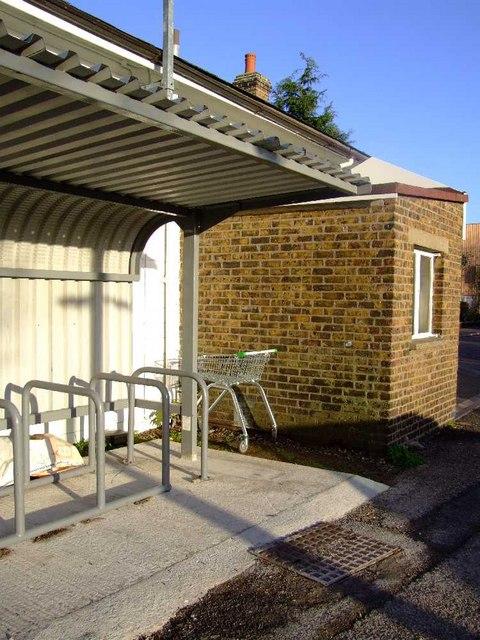 ASDA trolley, Shoeburyness station