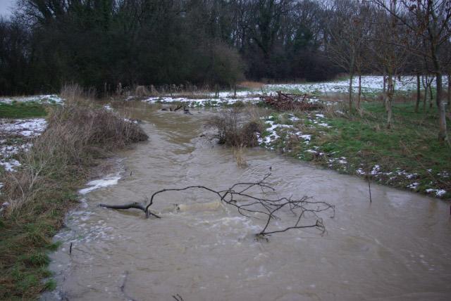 Stream near Hanging Houghton