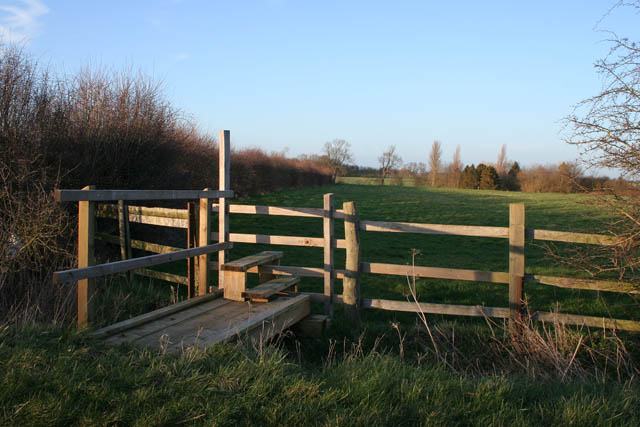 Stile on Stow Lane