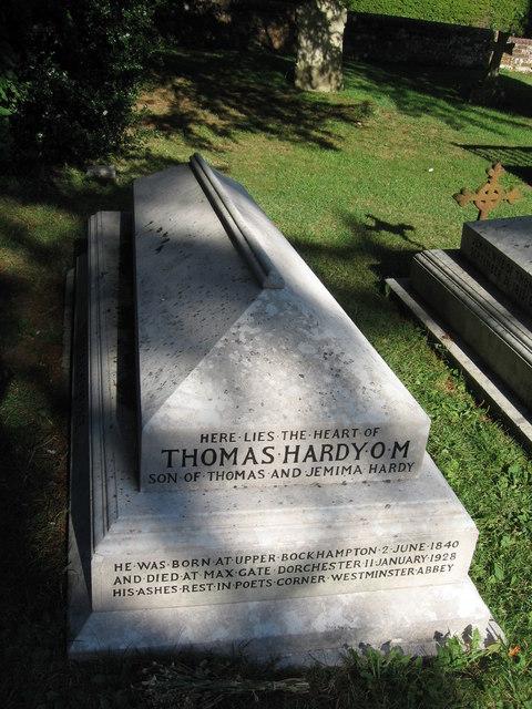 Thomas Hardy's grave, Stinsford churchyard