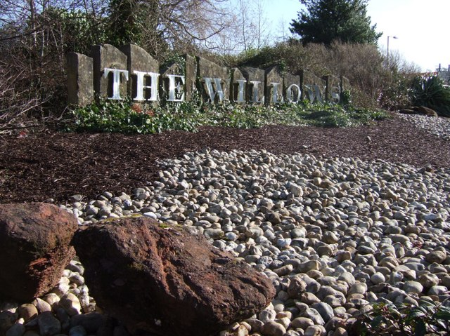 Entrance to The Willows