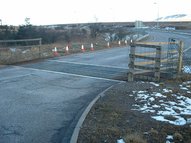 Cattle Grid at M62 Junction 22