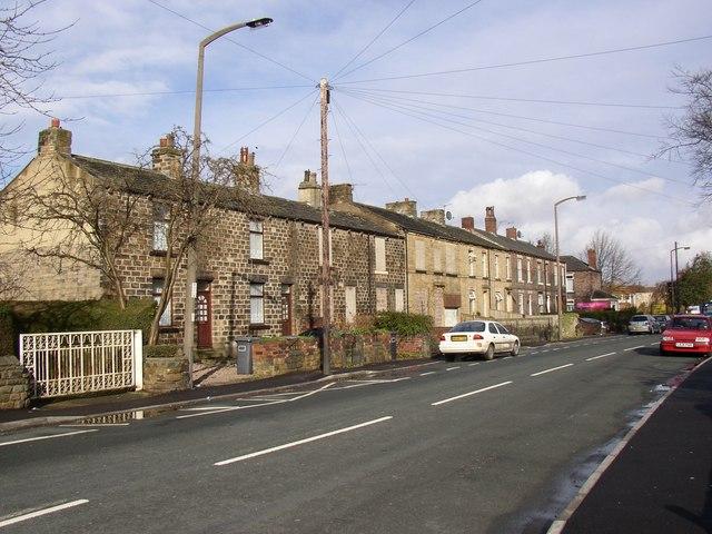 Terrace houses, Old Bank Road, Mirfield