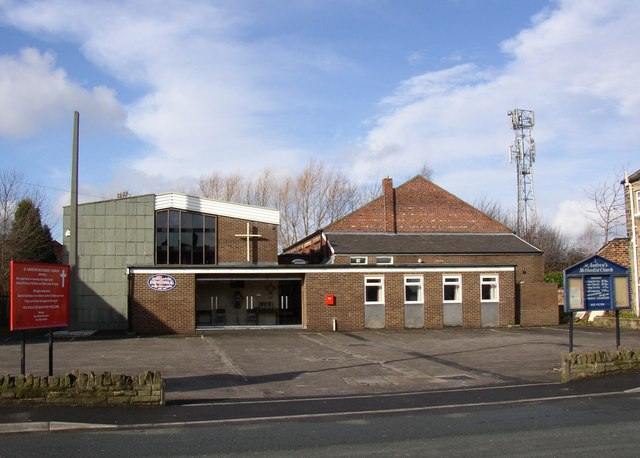 St Andrew's Methodist Chapel, Old Bank Road, Mirfield