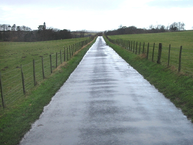 Road through Bourne Park