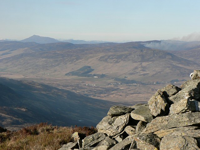 NE view from Meall Reamhar