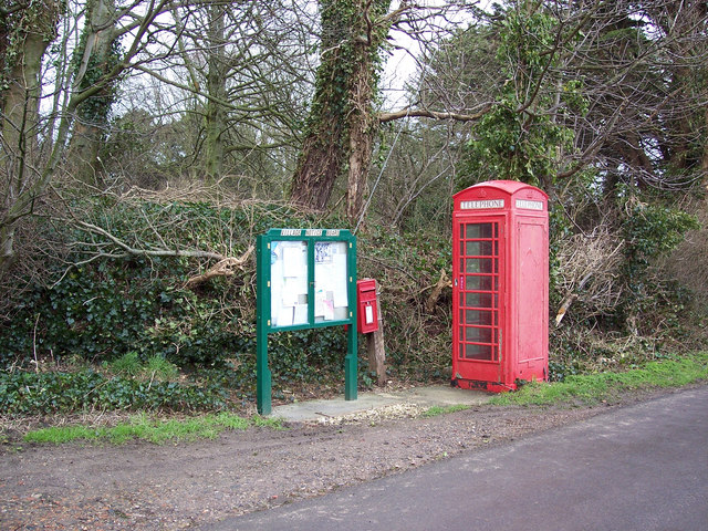 Village communications at Fifehead Neville
