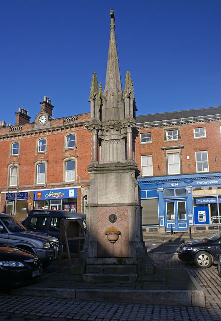 A memorial to Francis Wright, Ashbourne