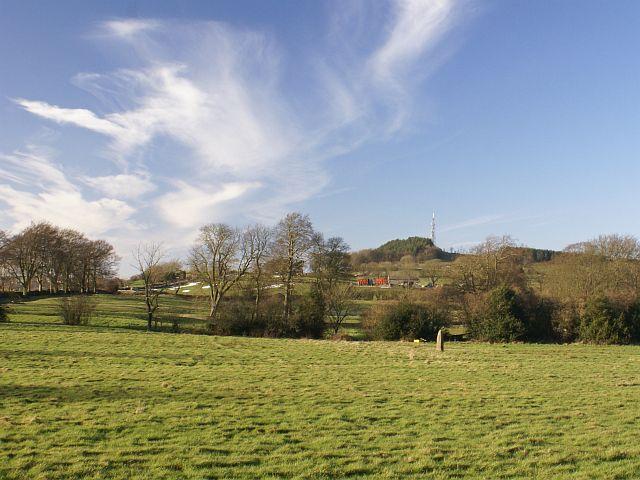 """""""Standing stone"""", Wirksworth Moor"""