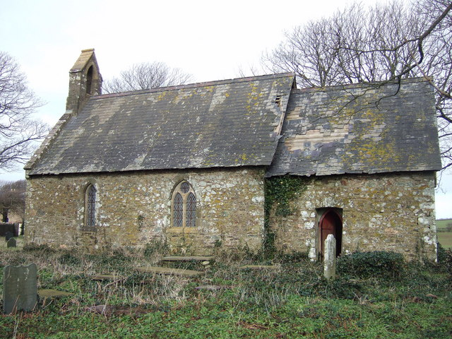 Another view of Llanreithan church