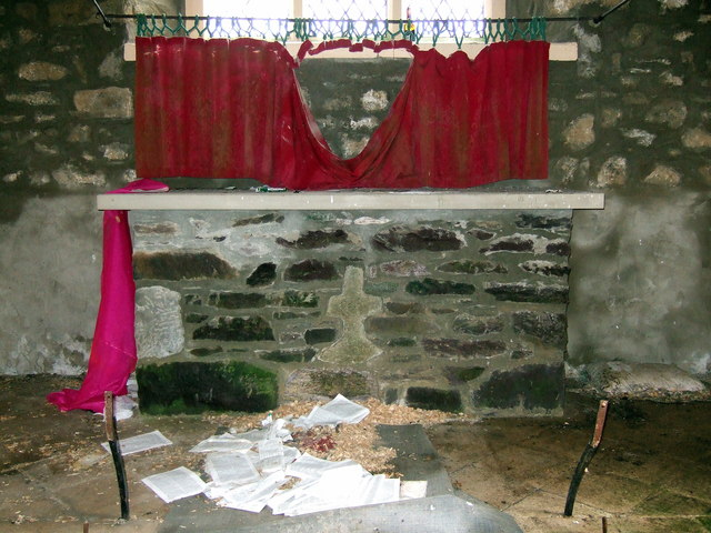 Llanreithan church altar stone