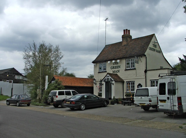 The Green Man Public House, Mill Green, Hertfordshire