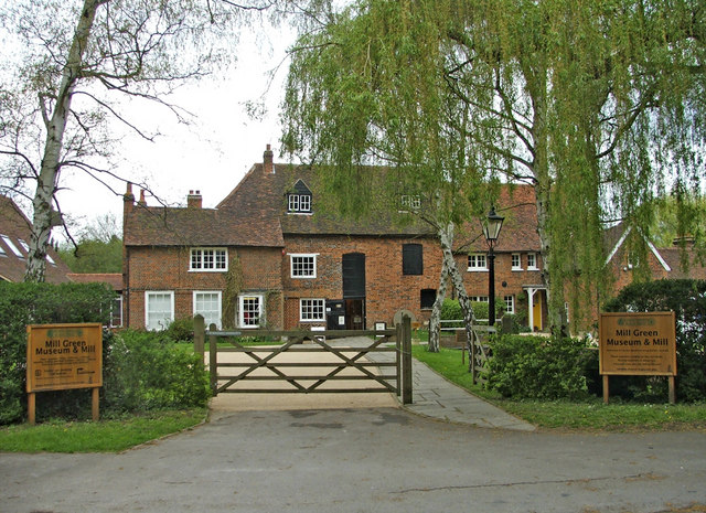Mill Green Museum and Mill, Mill Green, Hertfordshire